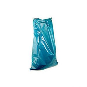 Müllsäcke blau auf Rolle