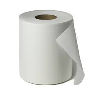 Putztücher, weiße Rolle